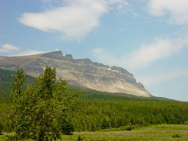 st. mary campground glacier national park mt. Located just north of Saint